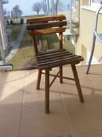 Antik gyermek , gyerek szék
