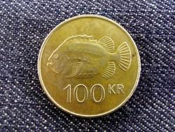 Izland 100 korona 2001 (id2996) forgalmi