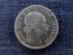 Szép Ferenc József ezüst 1 Florin 1886 (id6128) forgalmi