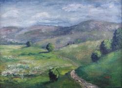 Lahner Emil: Dombos táj