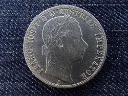 Szép Ferenc József ezüst 1 Florin 1859 A (id6131) forgalmi