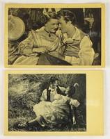 0V522 Régi Liliomfi film képeslap pár