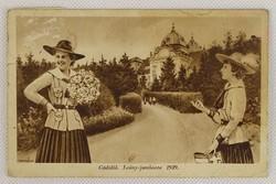 0V519 Leány-jamboree Gödöllő képeslap 1939