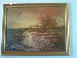 Szanthoffer, Hornyik, Erdélyi és más híres művészektől festmények egyben eladó