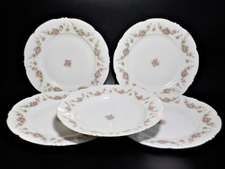 Habsburg- Austria szecessziós rózsás tányér , tányérok