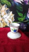 Hollóházi porcelán mini gyertyatartó  - Szedres