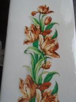 Tulipános kerámia párologtató.