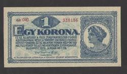 1 korona 1920.  UNC!!