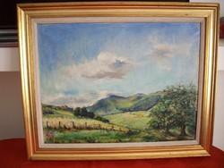 Festmény Nyári táj