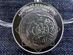Az utolsó hercegi pénz 1064-1074 színezüst (id6623) utánveret
