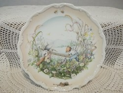 "Royal Doulton  "" The wind in the willows preparations for the boating season """