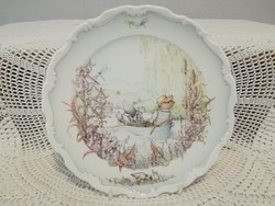 "Royal Doulton  "" The wind in the willows ratty and mole go boating """