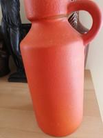 Retro narancs színű kerámia