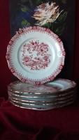 Porcelán süteményes tányér készlet - Seltmann Weiden W.Germany
