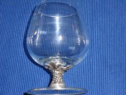 Ón talpú üvegpohár (6 db)