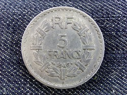 Francia 5 Frank 1946 (id2919) alumínium forgalmi