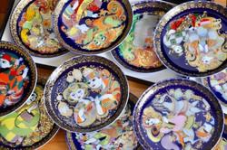Rosenthal dísztányérok, 12 darabos teljes sorozat, Bjorn Wiinblad: Aladin