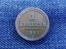 1 krajcár 1851 A/id 2662/