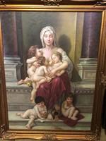 William -Adolphe - charity után Hagyatéki festmény