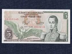 Kolumbiai 5 pezó 1977/id 6601/