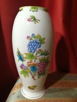 Herendi Viktória VBO váza 23 cm magas...