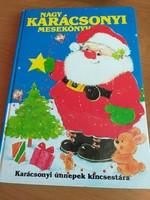 Nagy karácsonyi mesekönyv 1990.Ritka!!! 5000.-Ft