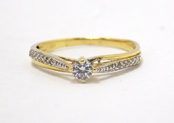 Köves arany gyűrű (ZAL-Au78256)
