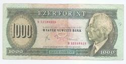 1000 Forint 1983  B Novemberi