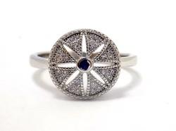 Köves ezüst gyűrű (ZAL-Ag57687)