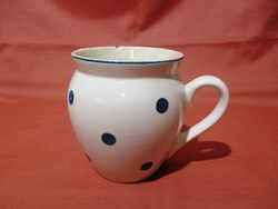 Kék pöttyös Gránit csupor, bögre, csésze