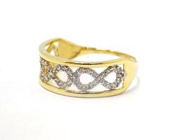 Köves arany gyűrű (ZAL-Au78253)