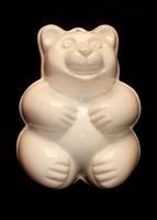 Nagy kerámia maci sütiforma,sütőforma.