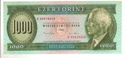"""1000 forint 1993 """"E"""" 2. UNC"""