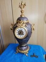 Extrém gyönyörű muzeális Francia óra CA 1840-1860