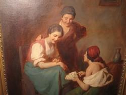 ROTTMANN MOZART / 1874- /  : KÁRTYAJÓSLÁS , IGAZI ANTIKVITÁS
