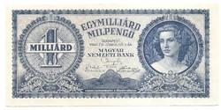 Egymilliárd Milpengő ( 1000.000.000 ) 1946 EF