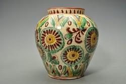Hatalmas népi hucul váza Kárpátalja