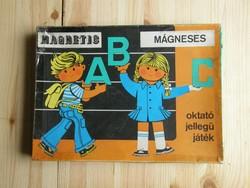 Triál mágneses oktató játék