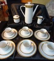 Thomas/Rosenthal teás/reggelizó készlet 6 személyes