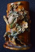 Antik, keleti (Kína) ecsettartó. Muzeális darab!!!