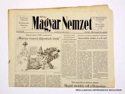 1998 december 10  /  Magyar Nemzet  /  Régi ÚJSÁGOK KÉPREGÉNYEK MAGAZINOK Szs.:  8624