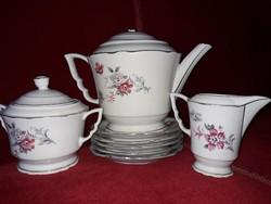 Zsolnay ritka mintás teás készlet darabjai pótlásra