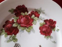 Gyönyörű rózsás süteményes tál