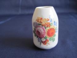 Antik Rosenthal Selb Bavaria kicsi váza porcelán ibolyaváza