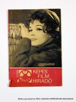1966 július  /  KÉPES FILM HÍRADÓ  /  Régi ÚJSÁGOK KÉPREGÉNYEK MAGAZINOK Szs.:  9050