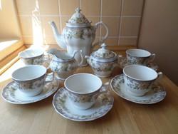 """Royal Doulton """"Temple Garden"""" angol porcelán teás kávés készlet"""