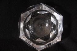 6 szögletű ólom üveg hamutál