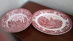 Angol porcelán tányérok