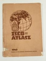 1940-es zseb atlasz