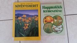 Növényismeret, Hagymafélék termesztése. 2 db könyv eladó!
